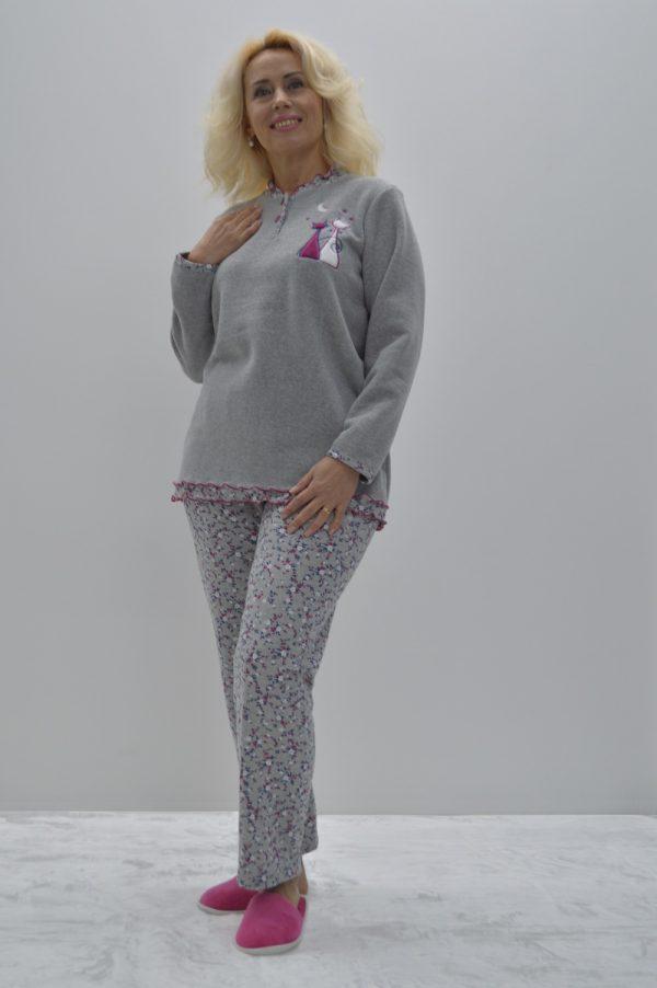 Pijama quentinho cats in love