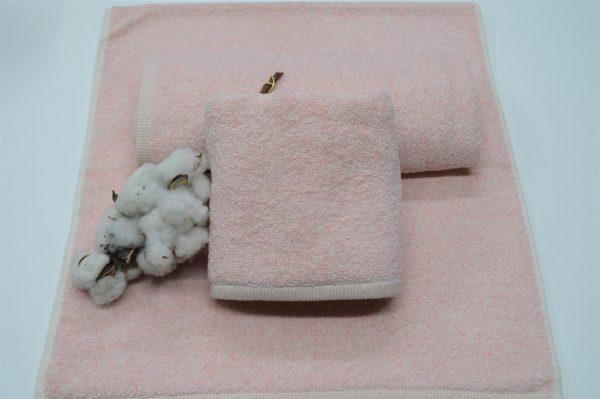 Toalha de banho sustentável rosa