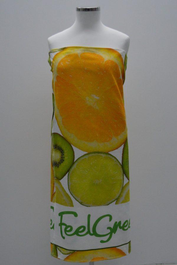 Toalha de praia fruta tropical feelgreen