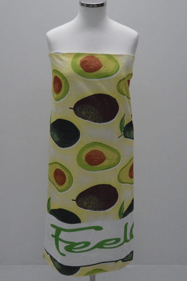 Toalha de praia feelgreen abacate