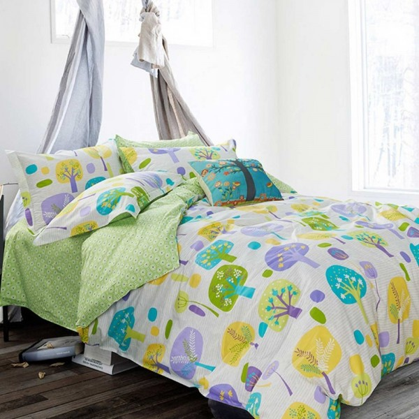 Bed sheets and double-face duvet cover