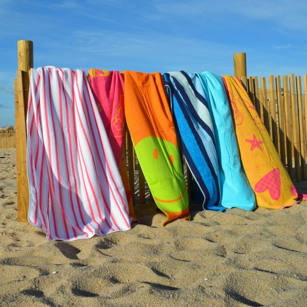 Pool or beach towels 100% cotton